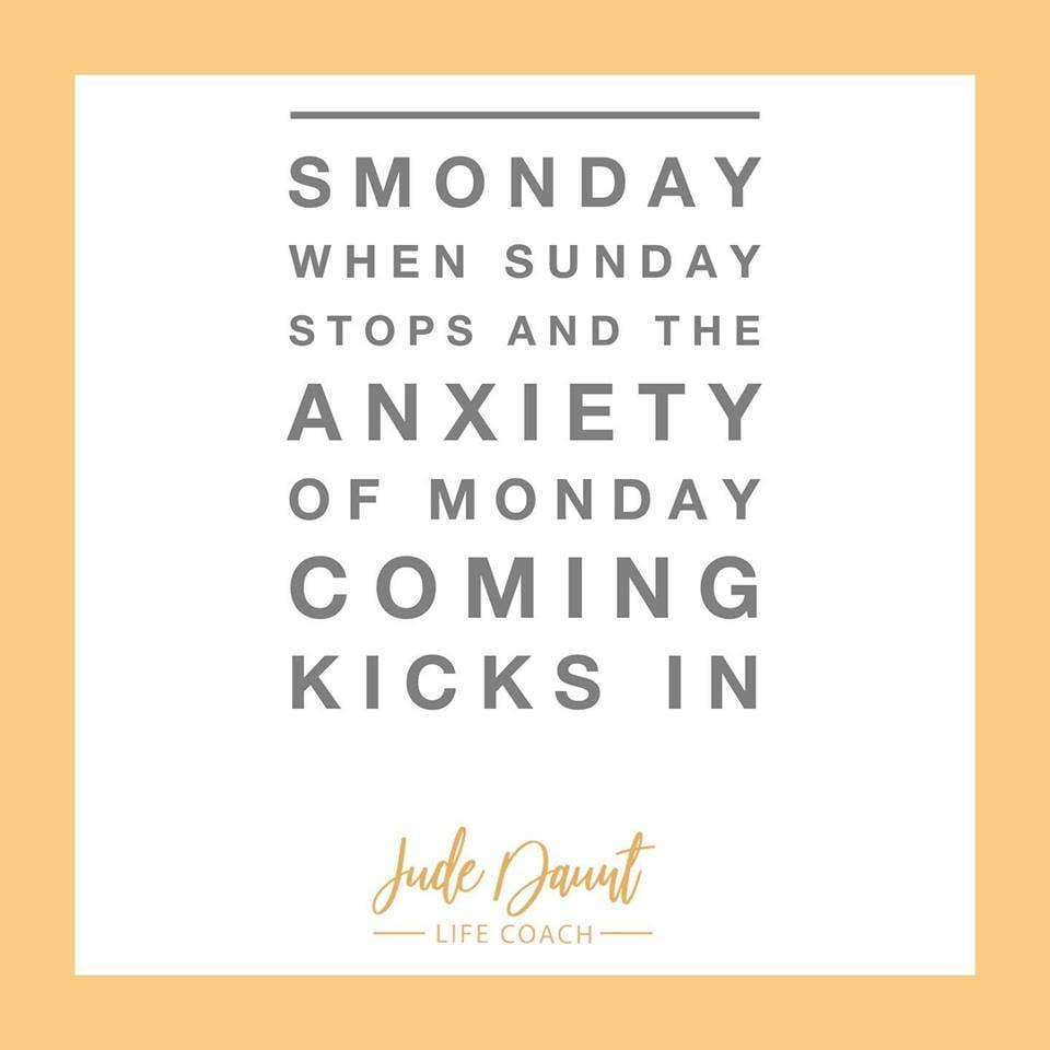 That dreaded Monday feeling